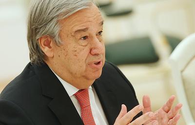 Глава ООН призвал бизнес включиться в борьбу с изменением климата