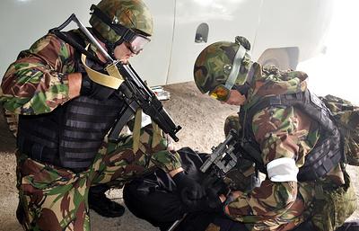 Шесть боевиков ликвидированы при попытке прорваться в часть Росгвардии в Чечне