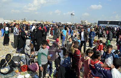 СМИ: число беженцев из Западного Мосула превысило 200 тысяч