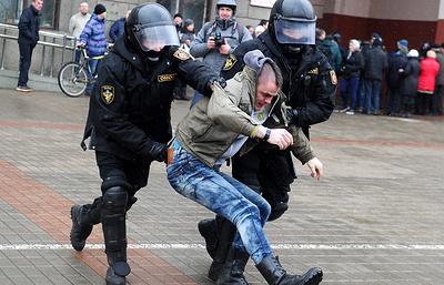 """Власти в Минске пресекли """"Марш рассерженных белорусов"""""""