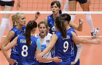 Волейболистки РФ сыграют с бразильянками в стартовом матче Всемирного кубка чемпионов