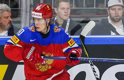 Хоккеист Наместников не принимает участия в тренировке сборной России в Кельне