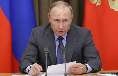 Путин обсудит с Советом по спорту план борьбы с допингом и подготовку спортрезерва