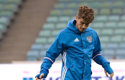 Роман Нойштедтер прибыл в расположение сборной России по футболу