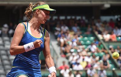 Тренер: Макарова феноменально провела матч против Кербер на Roland Garros