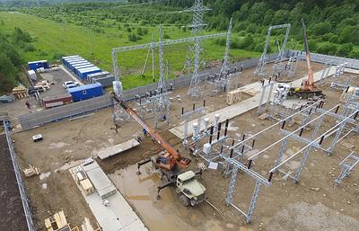 """МРСК Северо-Запада монтирует силовые трансформаторы на первой цифровой подстанции """"Южная"""""""
