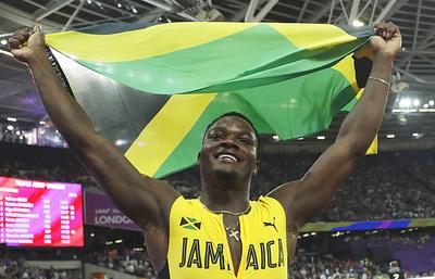 Чемпион мира в беге на 110 м с барьерами Маклеод заявил, что на победу его вдохновил Болт