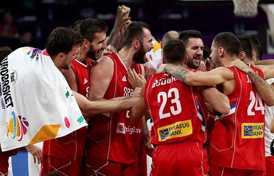 Команда Сербии стала соперником сборной России по полуфиналу Евробаскета