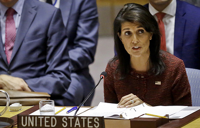 Постпред США при ООН допустила возможность нефтяного эмбарго в отношении Венесуэлы