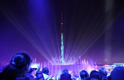 """Единство света и звука: в Москве открылся фестиваль """"Круг света"""""""