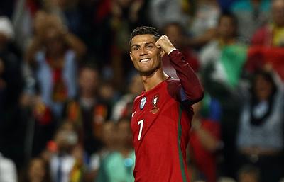 Роналду стал вторым в списке самых высокооплачиваемых европейских звезд