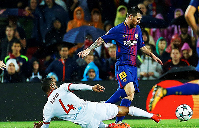 Месси стал вторым футболистом после Криштиану Роналду, забившим 100 голов в еврокубках