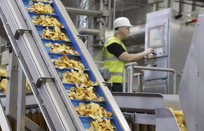 Новый цех по производству чипсов в Кашире увеличит мощность завода на 15%