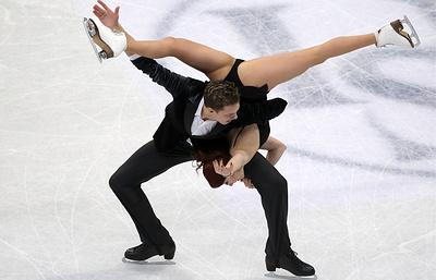 Фигуристы Боброва и Соловьев идут вторыми после короткого танца на Гран-при России