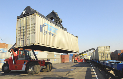 РЖД запустили сервис по доставке грузов в контейнерах из Москвы в Екатеринбург