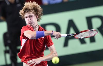 Россиянин Рублев вышел в финал молодежного Итогового турнира ATP