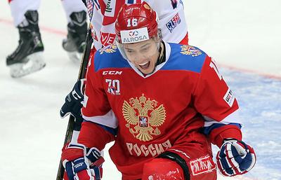 Хоккеист Плотников не сыграет с чехами в матче Кубка Карьяла из-за дисквалификации