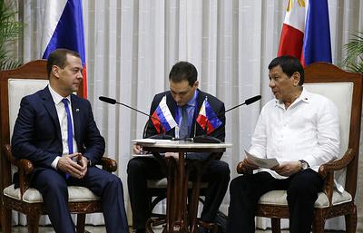 Россия продолжит поставки оружия Филиппинам для борьбы с терроризмом