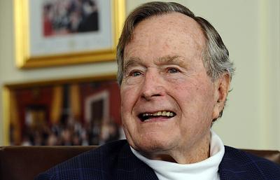 Би-би-си: восьмая по счету женщина обвинила Джорджа Буша - старшего в домогательствах