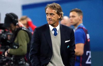 Манчини рассматривается в качестве кандидата на пост тренера сборной Италии по футболу