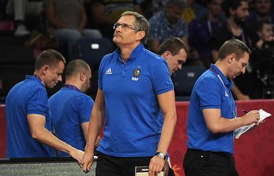 Сборная России по баскетболу начинает отбор на чемпионат мира 2019 года