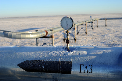 Поставки «Газпрома» по «Северному потоку» превышают проектную мощность на 10%