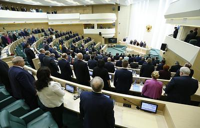 Совфед намерен назначить выборы президента на 18 марта