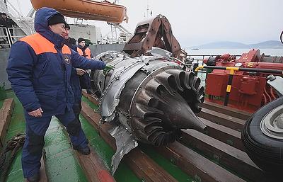 СК проводит комплексную экспертизу полета разбившегося под Сочи Ту-154