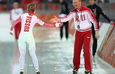 Главный тренер сборной РФ по конькобежному спорту назвал закономерным успех команды на ЧЕ