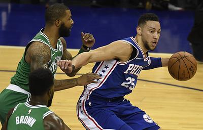 """""""Бостон"""" обыграл """"Филадельфию"""" в вынесенном матче НБА в Лондоне"""