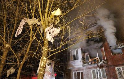 В жилом доме Омска произошел взрыв газа