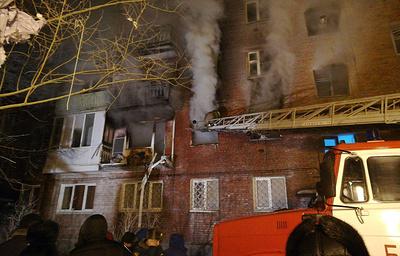 Число пострадавших при взрыве в жилом доме в Омске увеличилось до восьми человек