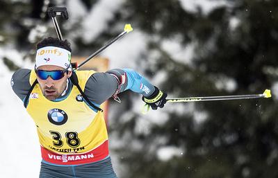 Фуркад бежал третий этап эстафеты в Рупольдинге, чтобы проверить Гигонна в роли финишера
