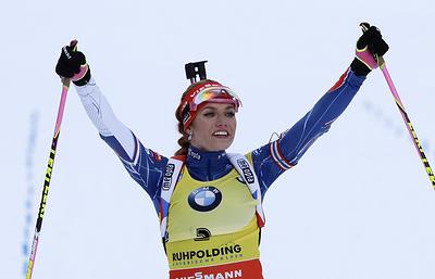 Нойнер: биатлонистка Коукалова сохраняет шанс успешно выступить на Олимпиаде-2022