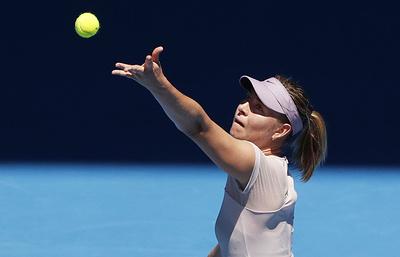 Шарапова думала, что получила солнечный удар в матче первого круга Australian Open