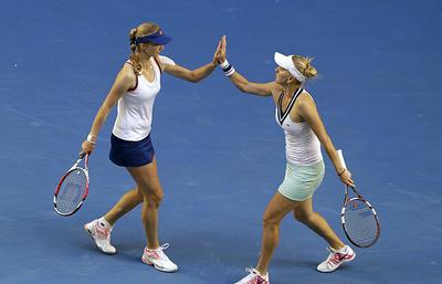 Пара Макарова и Веснина вышла во второй круг Australian Open