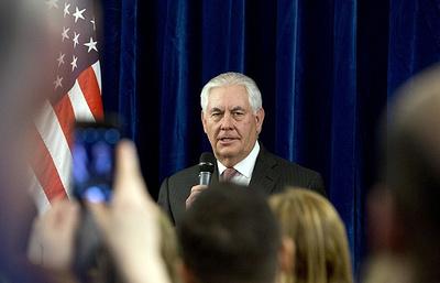 Тиллерсон: США хотят, чтобы РФ оказывала значительно большее давление на Асада