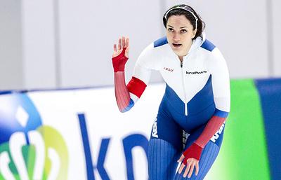 Конькобежка Шихова заняла третье место на дистанции 1000 м на этапе КМ в Германии