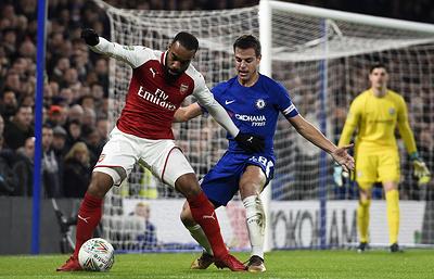«Арсенал» обыграл «Челси» и вышел в финал Кубка английской лиги