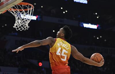 Защитник «Юты» Митчелл выиграл конкурс данков в рамках Матча звезд НБА