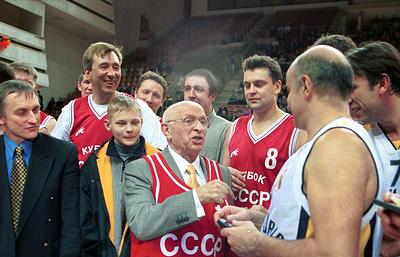 Именем баскетбольного тренера Гомельского назвали улицу в Москве