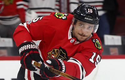 Шайба Анисимова помогла «Чикаго» обыграть «Оттаву» в матче НХЛ