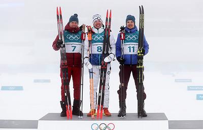 Российские лыжники в Пхёнчхане отдали только одну медаль олимпийского марафона