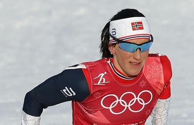 Норвежская лыжница Бьорген стала восьмикратной олимпийской чемпионкой