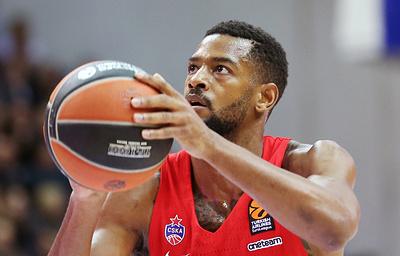 ЦСКА обыграл «Маккаби» из Тель-Авива в матче баскетбольной Евролиги
