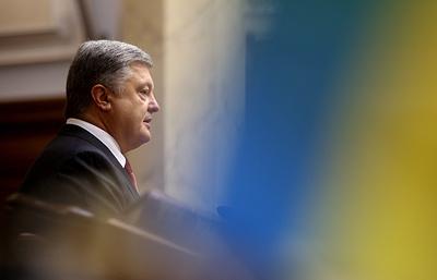 Порошенко ожидает от Берлина продолжения политической и финансовой поддержки Украины