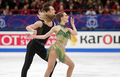 Пападакис и Сизерон установили мировой рекорд по сумме программ в танцах на льду на ЧМ