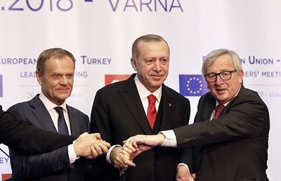 Глава Еврокомиссии выступил в роли гаранта переговоров о присоединении Турции к ЕС