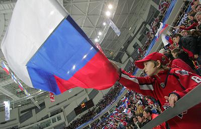 Юниорская сборная России победила команду Чехии на чемпионате мира по хоккею