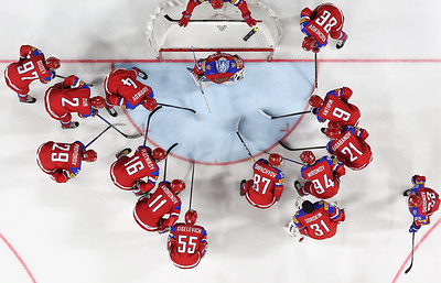 Российские хоккеисты при Воробьеве в Евротуре впервые забили больше одного гола